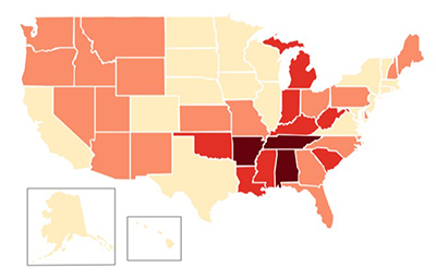 Opioid Prescribing by State