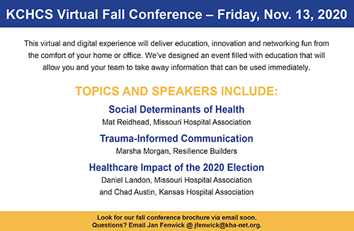 KCHCS Fall Conference 2